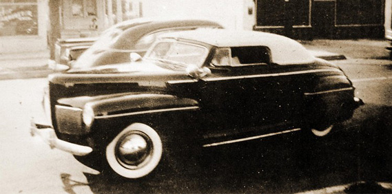 A nod to the '41 Mercury…