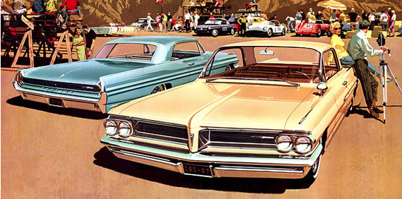 The Quiet Kustom: 1962 Pontiac Grand Prix