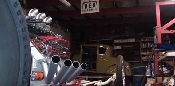 Rex Rods Sling Shot