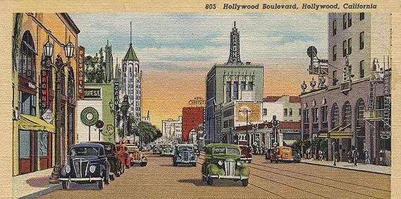 Hollywood in color, circa 1948