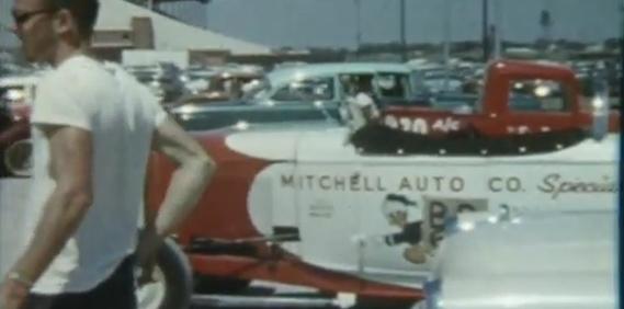 Vintage Drag Racing 8mm film part II