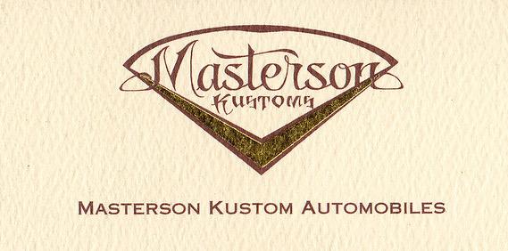 Brad Masterson Kustoms
