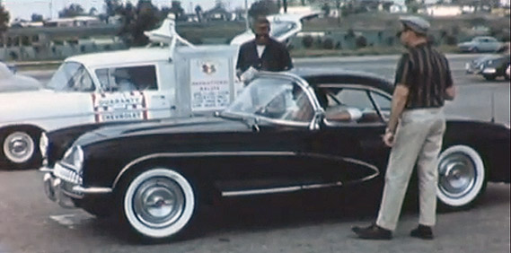 Calif. Corvette Club circa 1958