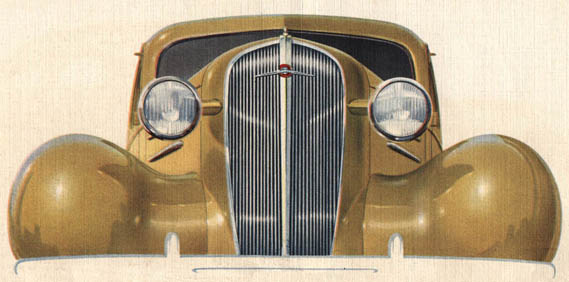 Fine GM cars for 1936…