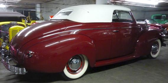 Rulon McGregor's '39 Mercury
