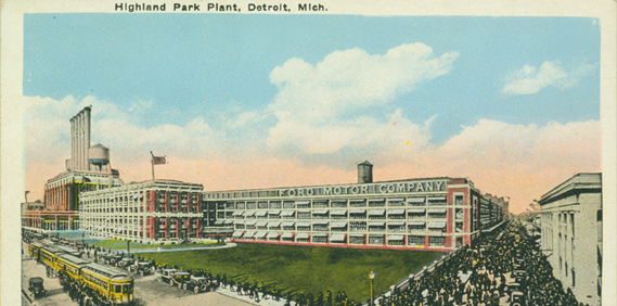Highland Park Ford Plant 1913-1915