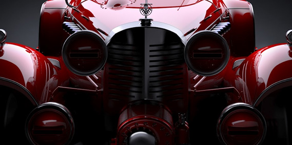 The Red Hydra Coupe