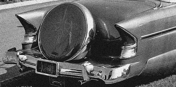 The Five Finest Tail Lights of the 50s…