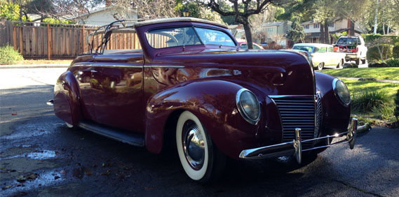 One Step Forward and Two Steps Back: The '39 Merc.