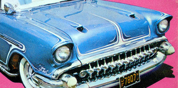 "'57 Chevy – ""The Blue Angel"""