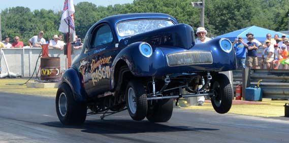 The Jalopy Journal Covers the Meltdown Drags