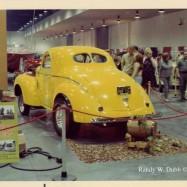 """Anaheim Convention Ctr. '68, note plexiglass """"mud flaps"""""""