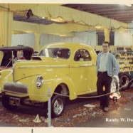 Randy with the Willys, '69