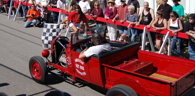 The Hot Rod Hill Climb