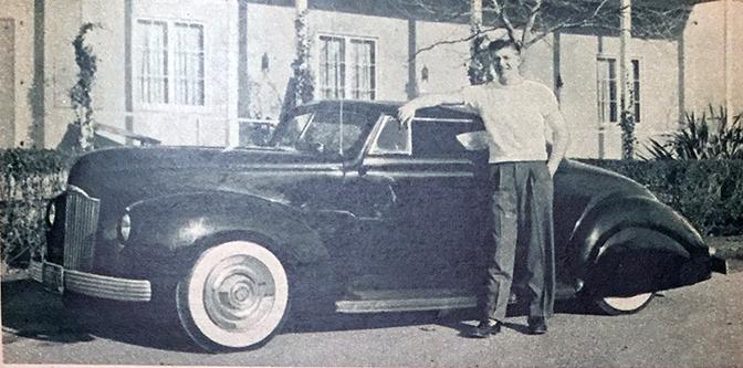Bruce Glenn's '39 Ford- Early Post War Custom
