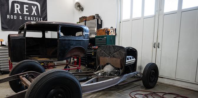 The Hemi Powered '32 Sedan