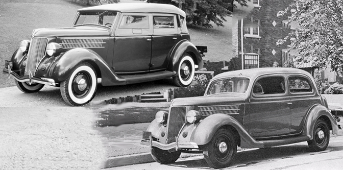 The Family Custom Car for 1936: Phaeton or Tudor?