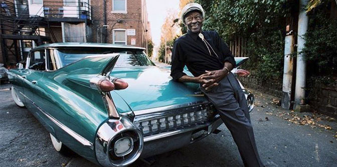 The hot rod poetry of Chuck Berry