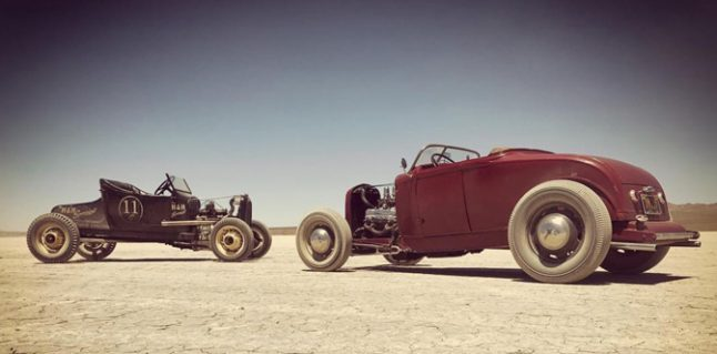 Picture an Old Crow at El Mirage