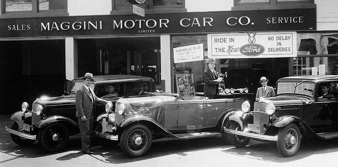 Maggini Motor Car Co. of San Francisco