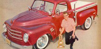 Doug McCauley's Studebaker Truck