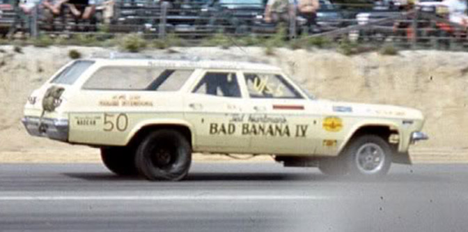 Bad Banana IV: Drag Racing the Family Wagon