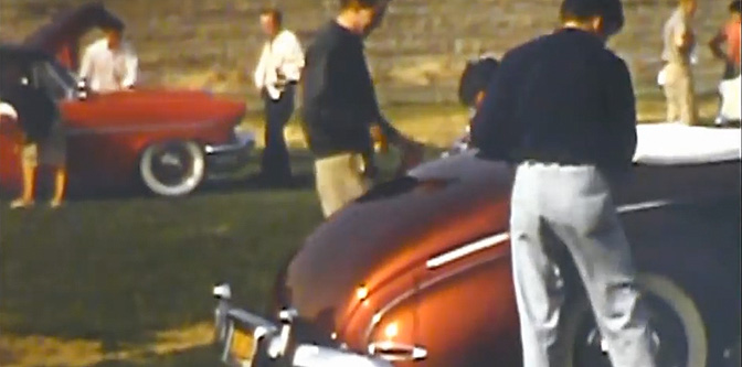 More 50s Car Show Footage…