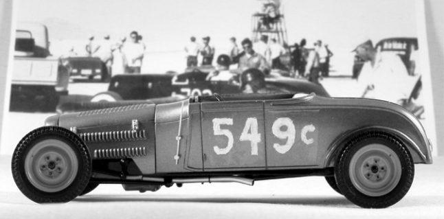 Skip Hudson/ Dan Gurney '29 A Roadster in Scale
