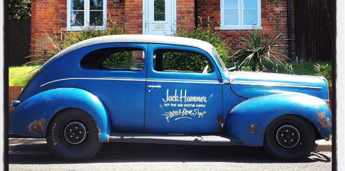 The JackHammer '40 Ford Tudor