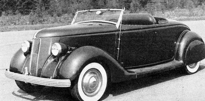 Bill Grader's '36 Ford