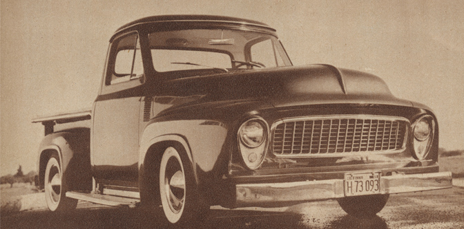 Ralph Ehorn's 1954 Ford Pickup