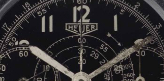 Otto Crocker's Heuer