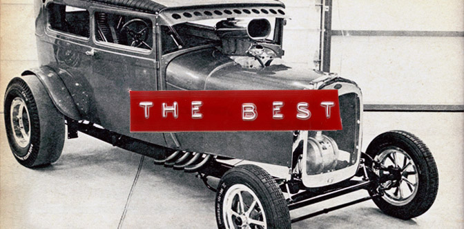 The Best Model A Drag Sedan Ever Built
