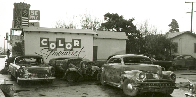 60 Years Ago: The Barris Shop Fire