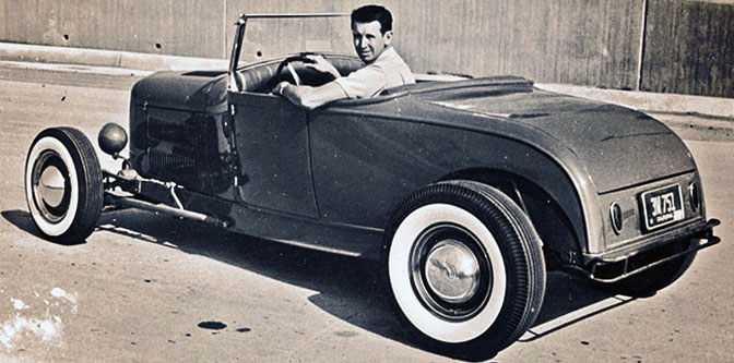 Cool Things about Wally Parks '29 A Roadster