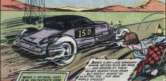 """Hitting the Trap"" Bonneville Comic story 1952"