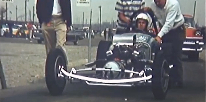 Drag Racing in Color – 1958