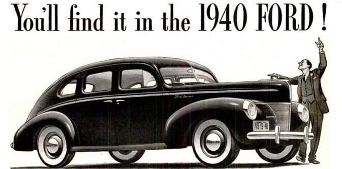 The 1940 Ford Style Show