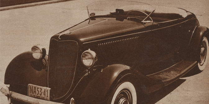 The Long Island '34 Roadster