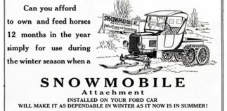 Time for a T Bucket Snowmobile!