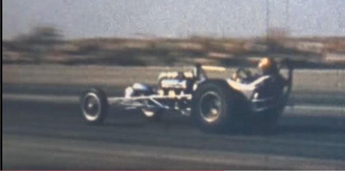 Vic Hubbard Drag Racing Footage