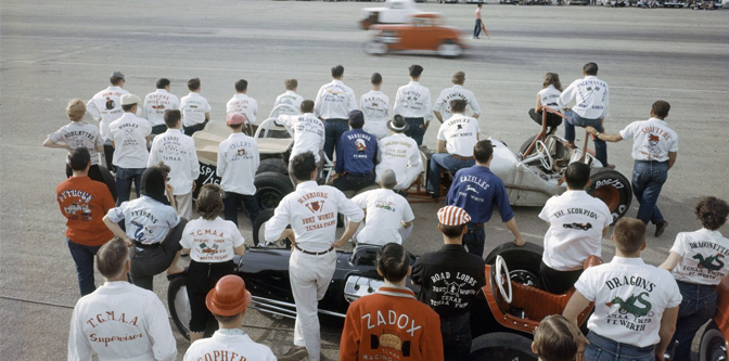 The Drag Racing Rage