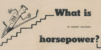 Barney Navarro Defines Horsepower