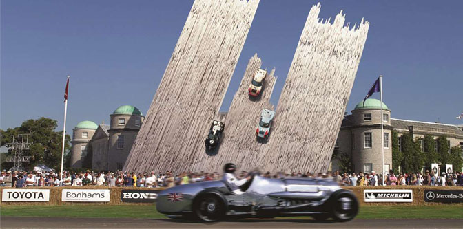 The Goodwood Festival of Speed!