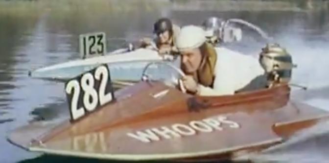 Vintage Hydro Racing On Lake Essex