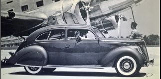 Streamlines Make Headlines (1936 Lincoln Zephyr)