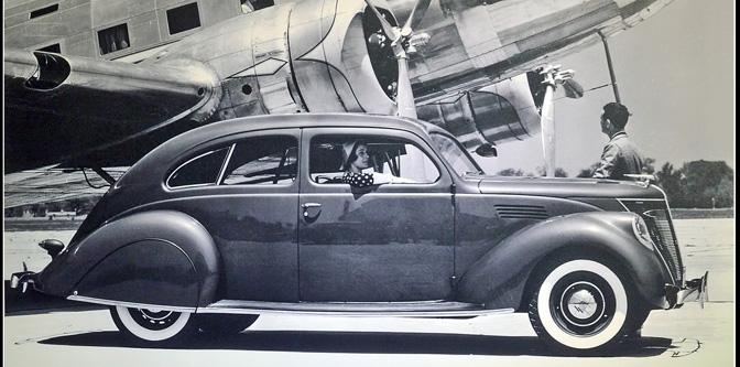Streamlines Make Headlines (1936 Lincoln Zephyr)