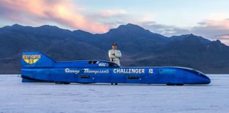 The Thompsons: Father (and now Son) Bonneville Legends.