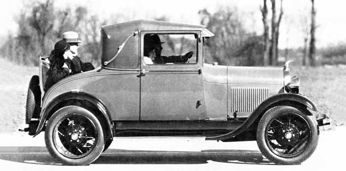 Model A Sport Coupe- The Poor Man's Roadster?