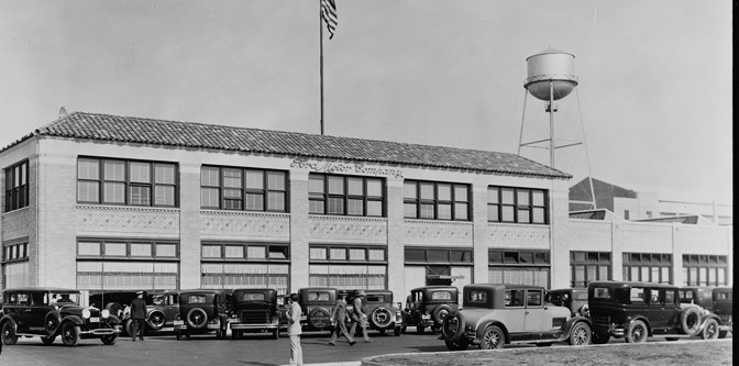 Ford Long Beach Assembly Plant in the 1930s